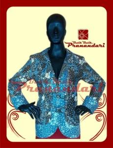 Butik Batik Pranandari Bandung Blazer Batik Lasem PR690-BLZR
