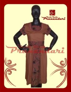 Produk Butik Batik Pranandari Bandung Dress Katun Ima Cotton Batik Madura Bordir Halus Tasik Furing Asahi