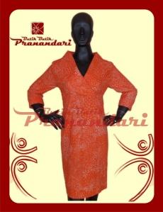 Produk Butik Batik Pranandari Bandung Dress Kimono Batik Lasem Katun Cotton