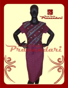 Produk Butik Batik Pranandari Bandung Dress Zara Dobi Batik Permen Tali Rara